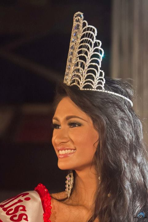 Yvethe Marie Santiago is Miss Bicolandia 2012 soon to be on the national level? let's wait and see  Credits to the owner of the photograph.