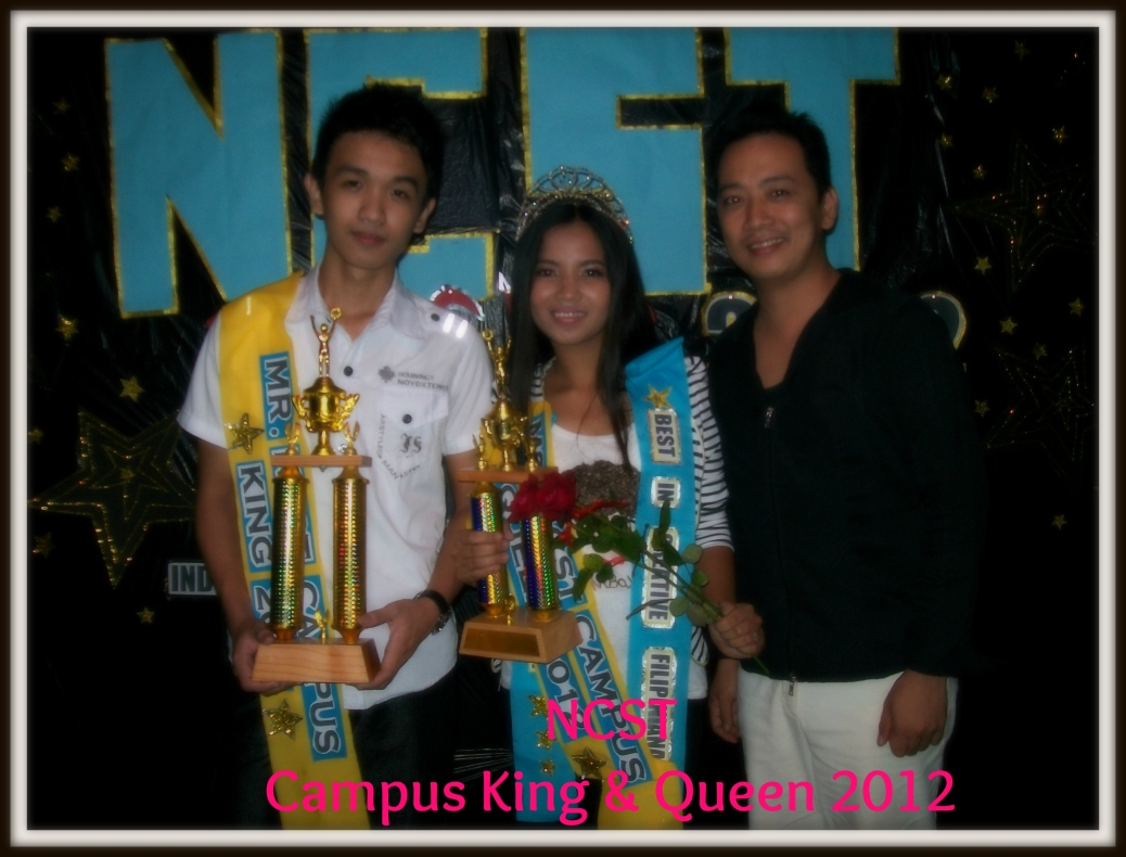 NCST Campus King 2012 - Monico Alejo