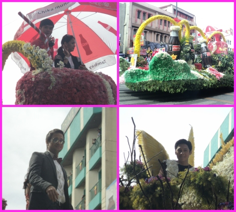 Stars gracing the parade (last time to see AJ Perez) on the pix are Joseph Marco, Empress Shuck & Sam Milby