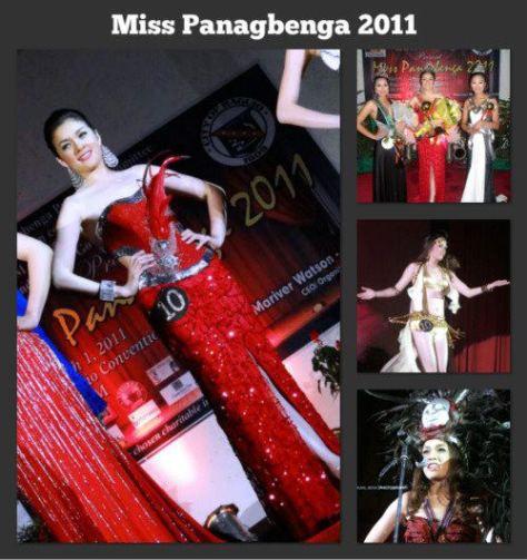 Aiyana Camille Mikiewicz Miss Panagbenga 2011