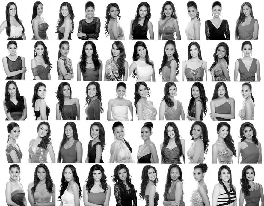 ROSE were part of the official candidates of Bb. Pilipinas 2013