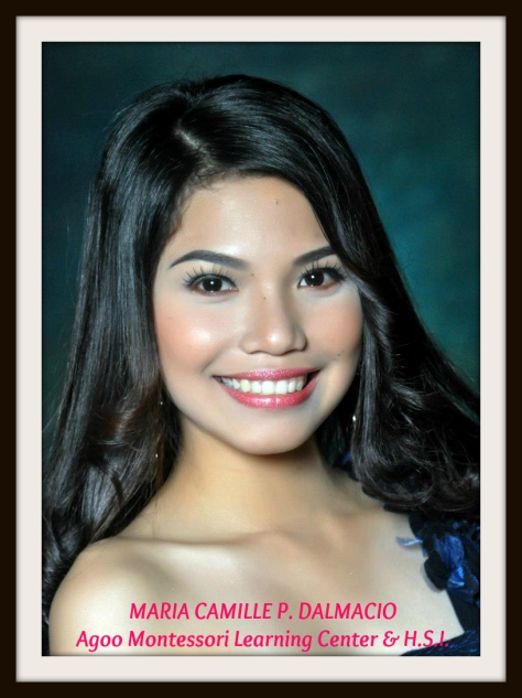 MARIA CAMILLE P. DALMACIO Agoo Montessori Learning Center and High School Inc.