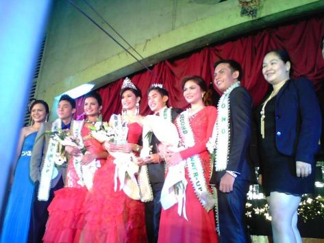 Mr. & Miss Holy Name University Personality 2013