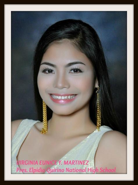 VIRGINIA EUNICE Y. MARTINEZ President Elpidio Quirino National High School