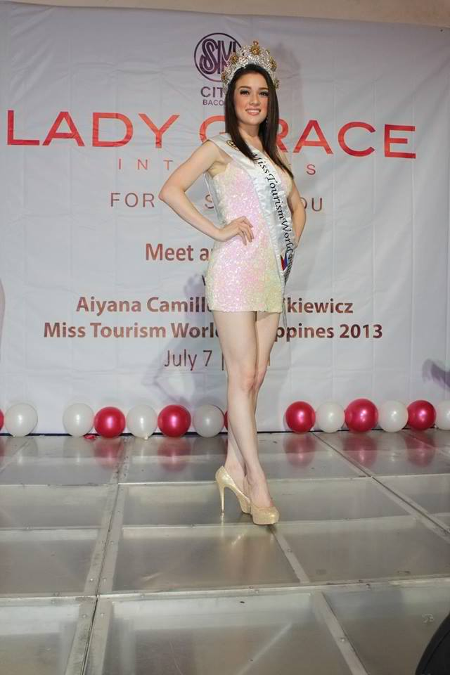 Miss Tourism World Philippines 2013 (Events of Aiyana ...